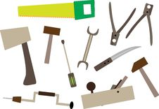 Free Joiner S Tools Royalty Free Stock Image - 15885536