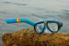 Snorkeling Equipment Royalty Free Stock Photos