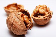 Free Walnuts Royalty Free Stock Image - 15886676