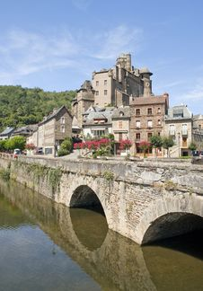 Free Bridge At Estaing Stock Photo - 15887080