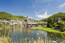 Free Bridge At Estaing Stock Photos - 15887283