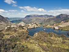 Free Lake District Cumbria Mountain View Stock Images - 15887334