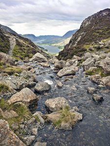 Free Lake District Cumbria Mountain View Stock Image - 15887381