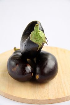 Free Eggplant Stock Photography - 15887392