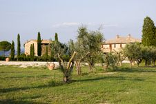 Free Tuscany Mansion Stock Photos - 15887553