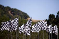 Free Checkered Flags Stock Photos - 15887913