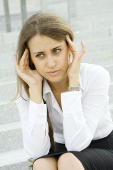 Free Stressed Businesswoman Stock Photo - 15887930