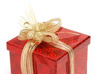 Free Red Gift Box Stock Photo - 15888070
