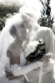Free Bride And Groom Stock Images - 15888134