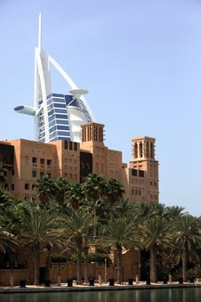 Free Burj Al Arab Royalty Free Stock Photo - 15888895