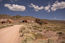 Free Ghost Town View Royalty Free Stock Photo - 15888915