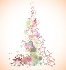 Free Christmas Tree Royalty Free Stock Photography - 15889617