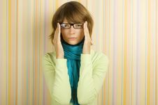 Free Woman With Glasses Royalty Free Stock Photography - 15889697
