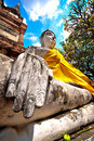 Free Old Buddha Royalty Free Stock Photography - 15898357