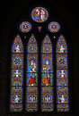 Free Colored Stainglass Church Window Stock Image - 15898581