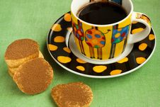 Free Cookies And Espresso Royalty Free Stock Images - 15890539