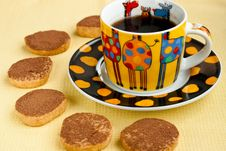 Free Cookies And Espresso Stock Photography - 15890552