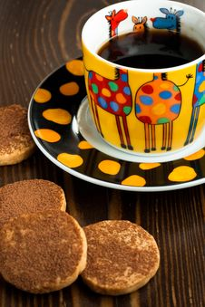 Free Cookies And Espresso Royalty Free Stock Photography - 15890567