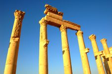 Free Site Of Palmyra Stock Photography - 15890972