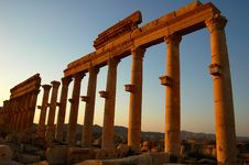 Free Site Of Palmyra Syria Stock Image - 15891031
