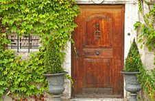 Free Wooden Door Royalty Free Stock Image - 15891156