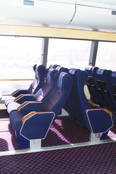 Free Seats In The Ferry Stock Photos - 15891263
