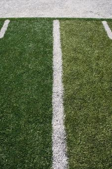 Free Football Field Lines Stock Image - 15891561