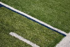 Free Football Field Lines Stock Images - 15891604