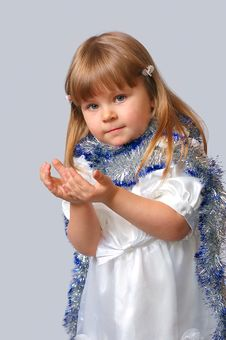 Free The Girl In A New Year S Dress Royalty Free Stock Photography - 15891767
