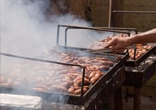 Free Sausage Grill . Stock Images - 15891884