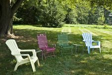 Free Lawn Chairs Royalty Free Stock Images - 15893289