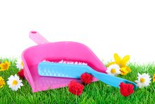 Free A Dustpan And A Brush Stock Photo - 15893350