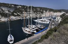 Free France, Corsica, Bonifacio Stock Photo - 15893490