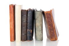 Free Very Old Books Abreast Stock Images - 15893754