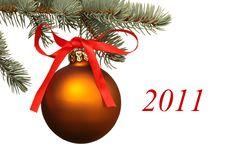 Free Matte Christmas Ball. Stock Images - 15894464