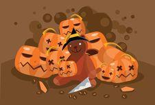 Free Carve On Halloween Royalty Free Stock Photos - 15894708