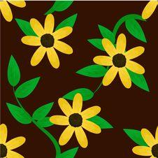 Free Seamless Floral Design Stock Photo - 15894850