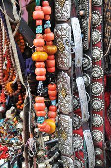 Free Tibetan Jewelry Stock Photo - 15894940