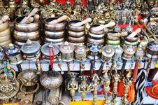 Free Tibetan Prayer Wheel Royalty Free Stock Photography - 15894997