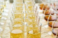 Free Wine And Cognac In Wineglass Stock Images - 15895384