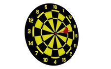 Free Dart Board Stock Photos - 15895473