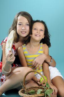 Free Happy Children Having Fun Stock Photos - 15895953