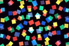 Free Abstract Picture Consisting Of Color Rectangles Royalty Free Stock Image - 15897416