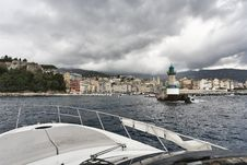 Free France, Corsica, Bastia, View Of The Port Stock Image - 15897421