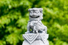 Free Chinese Lion Statue Stock Photos - 15897513