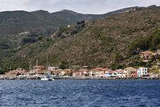 Free Italy, Tirrenian Sea, Capraia Island Royalty Free Stock Image - 15897986