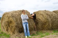 Free Haystack Royalty Free Stock Photo - 15898015