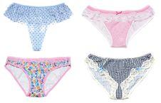 Free Collage Feminine Panties Royalty Free Stock Photo - 15898235