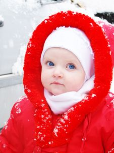 Free The Snow Girl Stock Photos - 15898333