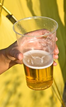 Free Glass Of Beer Royalty Free Stock Photography - 15898367